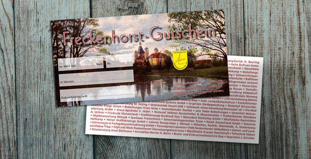 Freckenhorst Gutschein